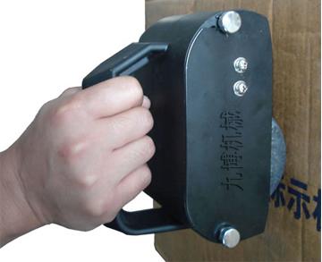 手动纸箱滚码机