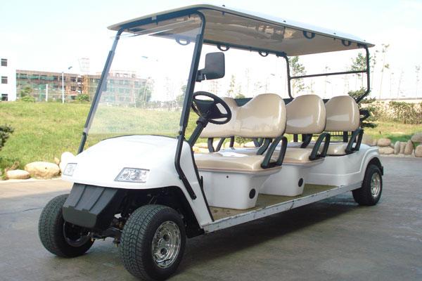 电动高尔夫车 广西益高6座电动看房车