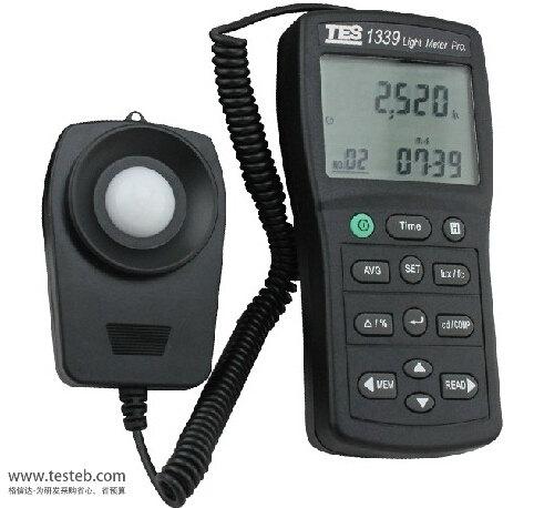 台湾泰仕TES1339专业级照度计TES-1339照度计