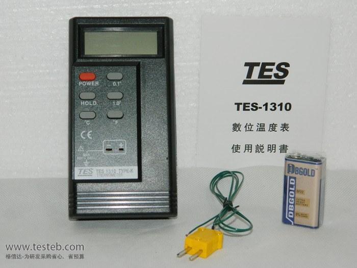 泰仕温度表tes-1310数字温度计