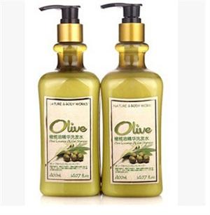 特价专柜正品 生活良品橄榄油精华洗发水400ML 新包装