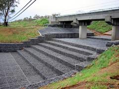 石笼网护垫 河道护坡  改善生态环境