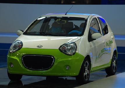 吉利熊猫纯电动汽车