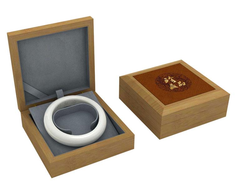 供应玉器手镯包装盒木质