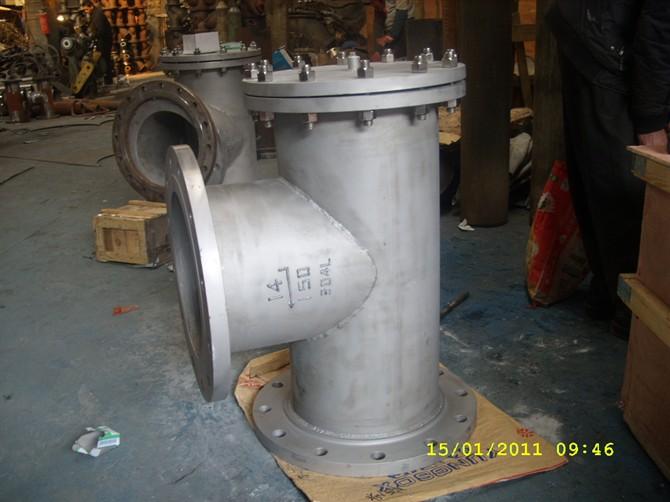 碳钢T型过滤器