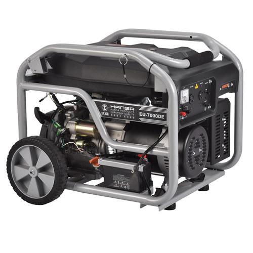 6kw家用静音汽油发电机