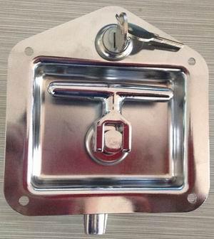 工具箱锁铁镀亮铬卡车工具箱锁盒锁