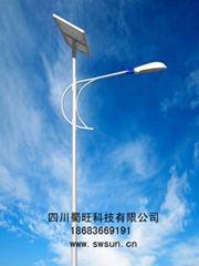 供应四川/陕西地区优质太阳能路灯/太阳能庭院灯/路灯厂家