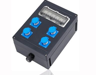 防爆防腐插座箱防腐插座插头箱IP65防腐等级WF2