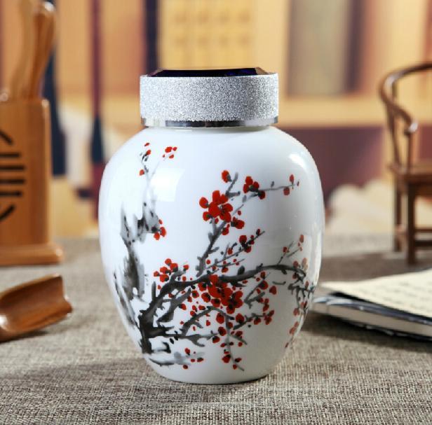高档陶瓷茶叶罐