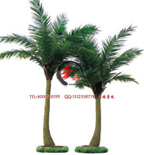 特价仿真椰子树 玻璃杆仿真椰子树 室内仿真椰子树