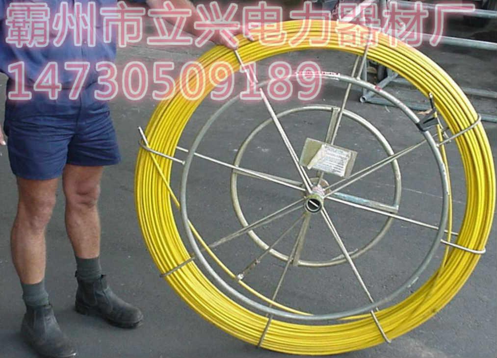 广东佛山电缆穿管器光纤线槽引线器穿线器怎么牵引