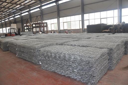 上海联企出售水利护脚铅丝网挡土墙
