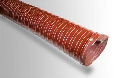硅橡胶高温风管