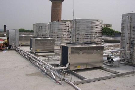福建空气能热水器安装图