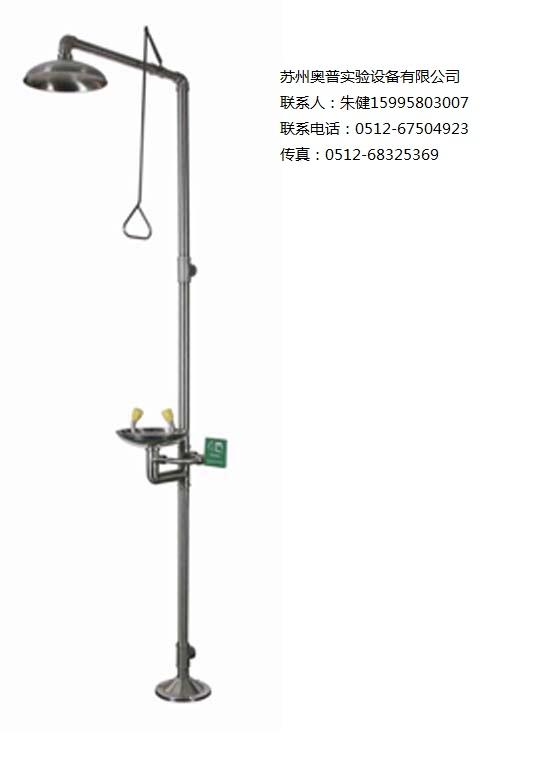青岛洗眼器BTF11不锈钢复合式洗眼器