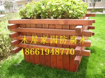 青岛烟台纯实市政木花盆 木花桶树盆