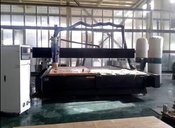 四轴板材雕刻机 绝缘材料加工中心