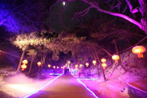 淄博元宵灯会哪里有,来淄博梦幻聊斋城