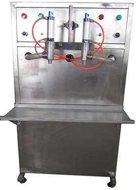 世鲁半自动气动油类灌装机-SLYG-2