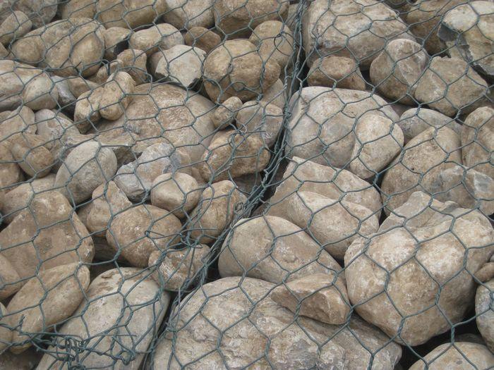 生态环保三拧石笼网河道护坡铅丝笼