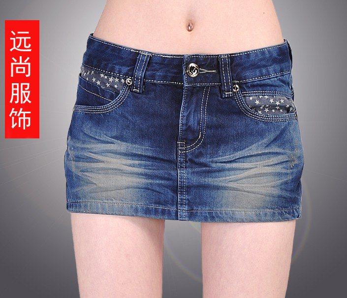 新款春夏韩版牛仔短裤裙显瘦修腿牛仔裤裤裙