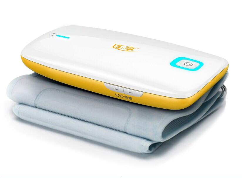 带血压状态智能指示灯的连享超便携臂式血压计