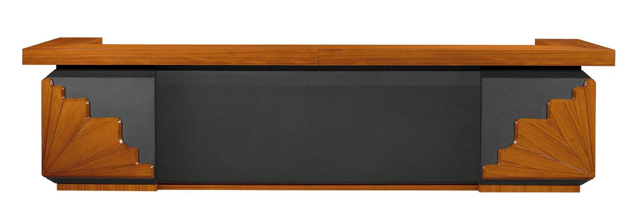 供应会议桌 高档帖木皮红木会议桌