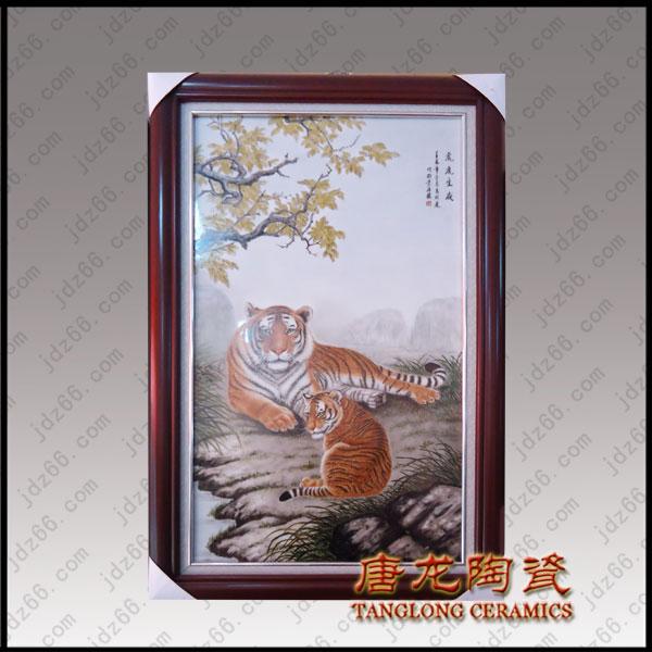 春节送什么给领导好呢?景德镇高档瓷板画