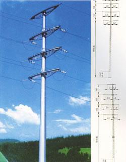 霸州电力钢杆安装 霸州电力钢杆配件