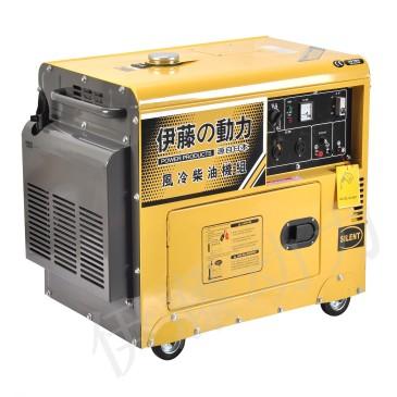 5千瓦静音柴油发电机 全封闭发电机