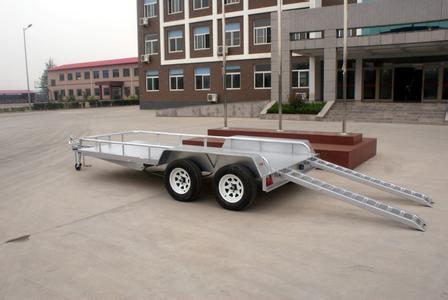 60吨拖挂车全挂车 厂内重物转运拖车