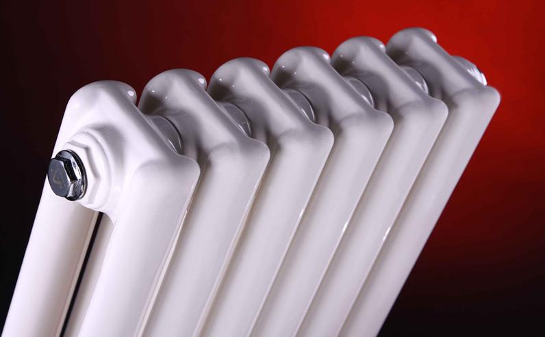 天津钢制散热器50一体方片头