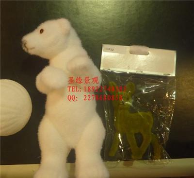 定制仿真动物 户外园林特大米奇老鼠草皮造型 泰迪熊造型植物