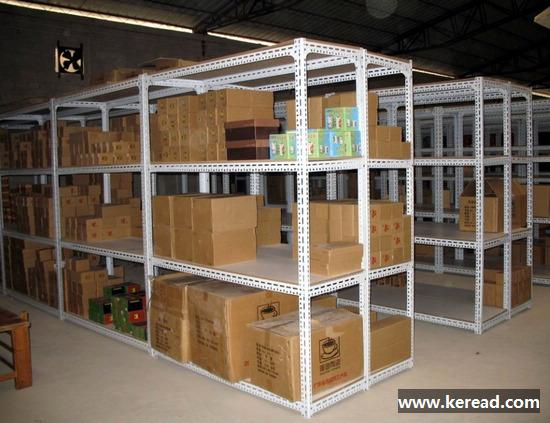 上海万能角钢货架批发订做_柯瑞德货架供货商