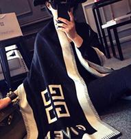 2014最新款欧洲站欧美n 大牌纪家G家男女通用羊毛羊绒披肩围巾