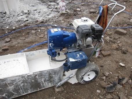 2015最新款变频腻子喷涂机砂浆喷涂机