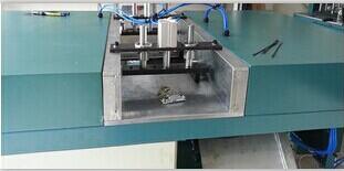 高麦双头45度角铝材切割机拥有非常成熟的专业技术和先进的生产工艺