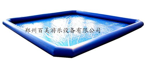 内蒙古儿童充气水池/充气游泳池/广场摸鱼池价格