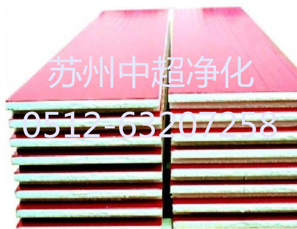 彩钢复合板 彩钢板规格型号75厚度 夹芯板规格