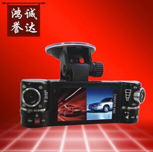 可移动式双镜头行车记录仪