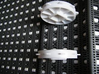 塑料网带链