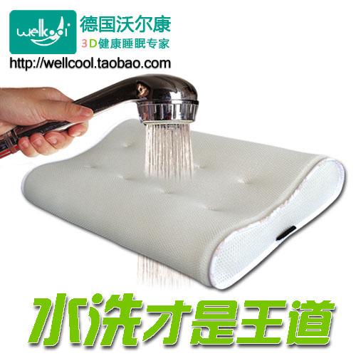 3d颈椎保健枕头枕芯透气可水洗环保