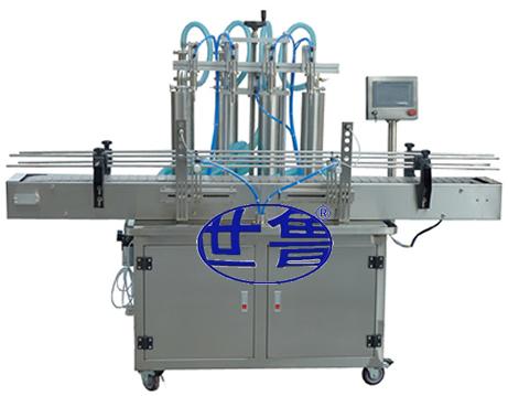世鲁全自动燃油宝灌装机,汽油添加剂灌装品质有保证