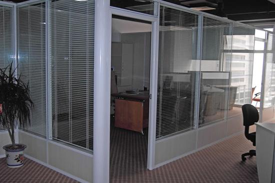 苏州办公室隔断制作 苏州玻璃高隔墙公司
