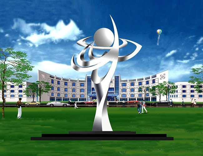 不锈钢校园雕塑设计图_厂家_曲阳万鑫雕塑