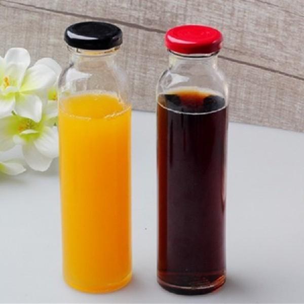 供应350ml饮料玻璃瓶 冷泡茶瓶