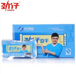 劲仔豆干 湖南岳阳特产非转基因大豆休闲小包零食批发 酱香盒装