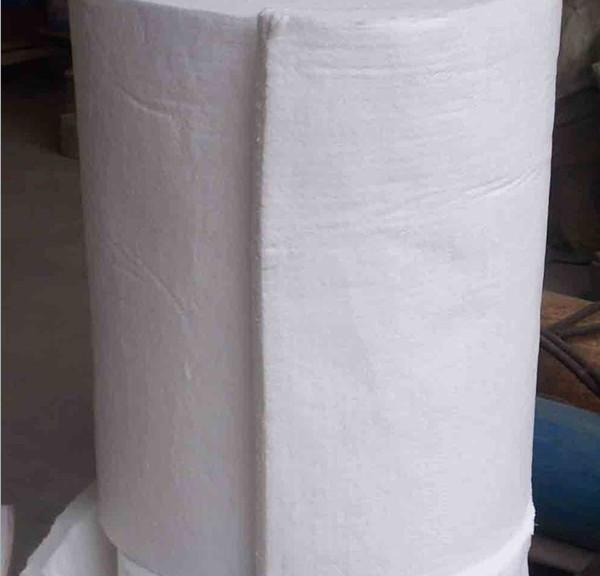 高铝硅酸铝毯-低渣球喷喷吹毯