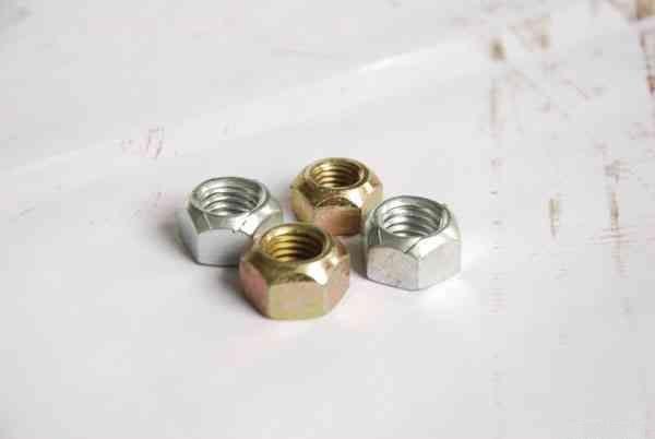 厂家直销金属锁紧螺母DIN980/卡片式锁紧螺母/压点自锁螺帽